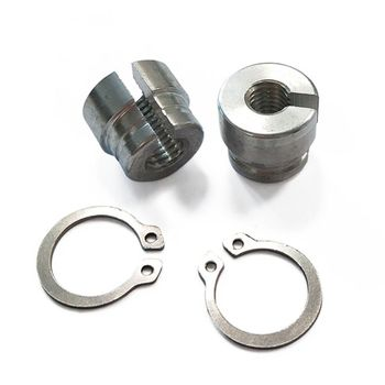 Billet Aluminum Throttle Cable Bushings For BMW E30 E34 E28 E39 E36 M20 M30 M50 S14 M60 H4GC image