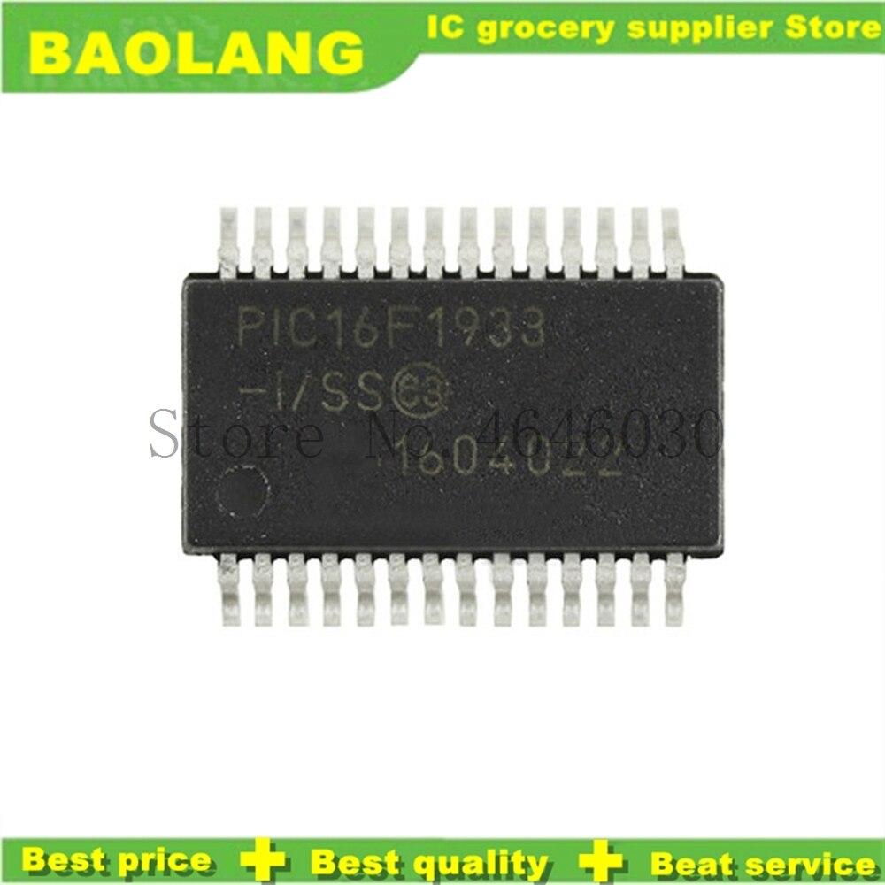 1PCS PIC16F1933-I//SS IC MCU 8BIT FLASH 28SSOP PIC16F1933-I 16F1933 PIC16F1933