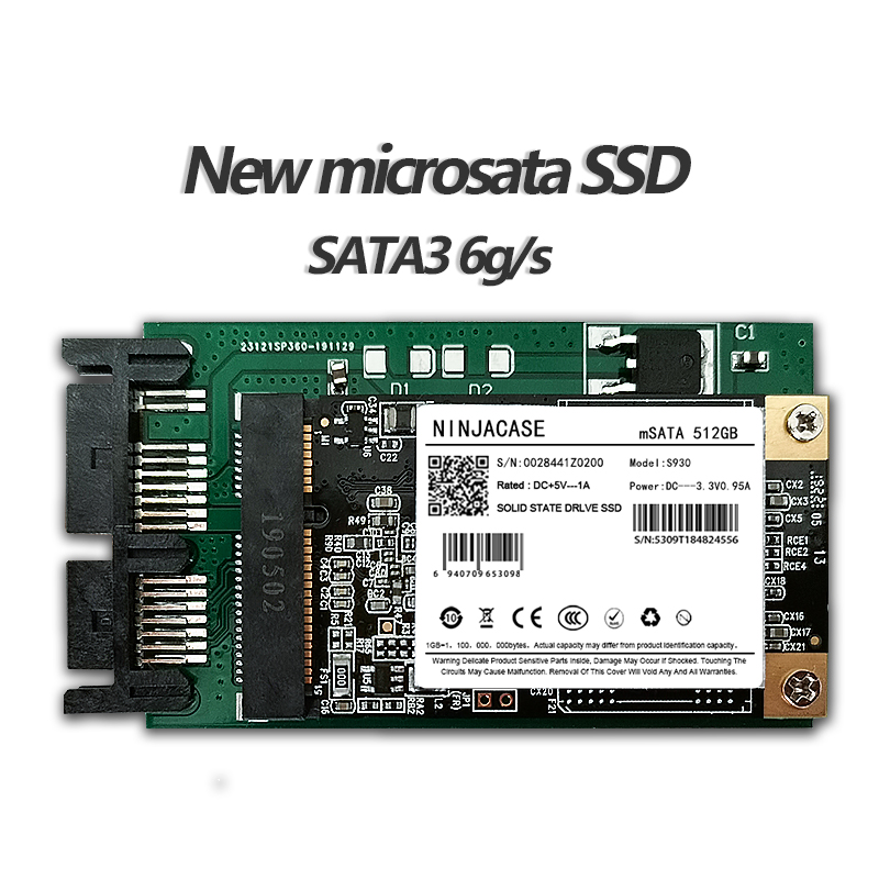 "NEW 256G 128G 64G SSD 1.8"" MicroSATA FOR HP 2740p 2730p 2530p 2540p IBM X300 X301 T400S T410S REPLACE MK2533GSG MK1633GSG 512G"