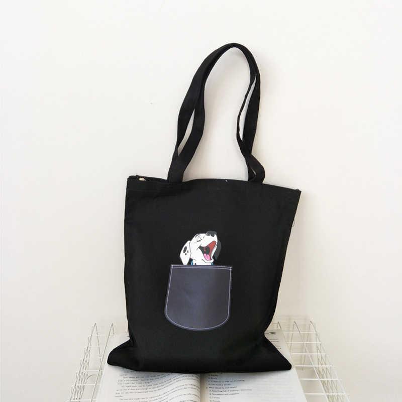 Large capacity Canvas Tote Bags For Women 2019 Female Handbags Eco Reusable Cloth Shopping Bag Ladies Casual Beach Bag Shopper
