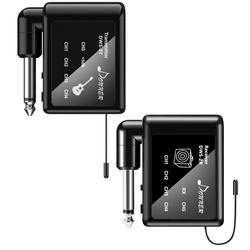 Donner Chitarra Senza Fili Trasmettitore e Ricevitore del Sistema 60 M Gamma di Trasmissione Built-In Batteria Al Litio Per Digital Audio DWS-2