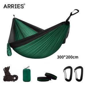 Camping Parachute Hammock Hanging-Bed Outdoor-Furniture Sleeping-Hamaca Survival Travel