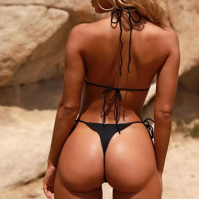 Tie Side Thong Bikini