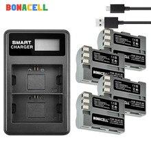 BONACELL 2600mAh EN-EL3e EN EL3e EL3a ENEL3e Camera Battery +Dual Charger for Nikon D300S D300 D100 D200 D700 D70S D80 D90 D50 dual 45 degree split image focus focusing screen for nikon d80 d90 d200 d300 d300s d7000 d7100 d7200 pr126