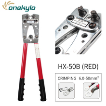 Shipping Free Large Crimp Plier Hex Crimper Crimping Tool  Cable Lug Crimping pliers Pressing Crimping Tool стоимость