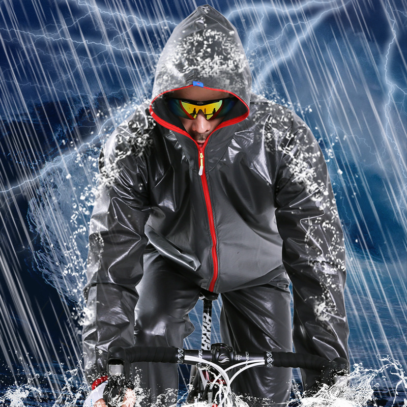 Rain Coat Motorcycle Waterproof Outdoor Sports Riding Raincoat Set  Work Unisex Vehicle-specific Raincoat Fishing Raincoat
