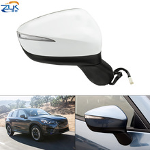 Rearview-Mirror-Assy Blind-Spot-Monitoring Mazda Exterior-Door Folding for ZUK CX-5