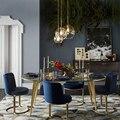 Стеклянный шар в скандинавском стиле  Подвесная лампа  Домашний Светильник  Декор  светодиодный светильник E27 110V 220V  прикроватная люстра  2019