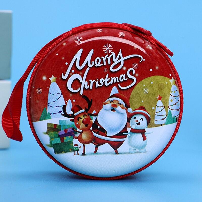 Лидер продаж, кошелек для монет с героями мультфильмов, Эльза, Анна, принцесса, чехол для ключей для девочек, кошелек, детский Снежная королева, гарнитура, сумка для монет - Цвет: Christmas4