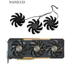 3 шт./компл. Сапфир R9 390X390 290X GPU VGA охлаждающий вентилятор для R9 390X8G D5 Tri-X R9 290X4G R9 OC 390G PRO охлаждение 8