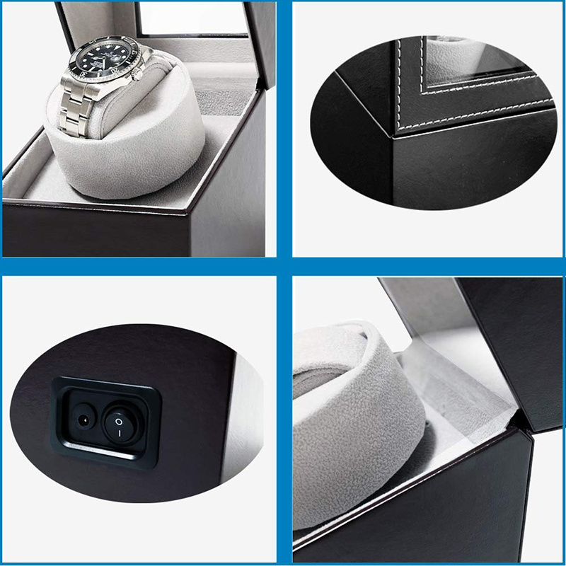 Watch Winder for automatic watches High Quality Motor Shaker Watch Winder Holder Automatic Mechanical Watch Winding Box
