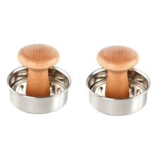 Patty-Maker Burger-Press Mini Meat-Tool-Accessories Kitchen Stainless-Steel for