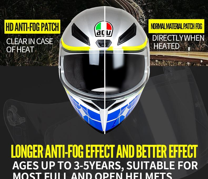 Agv Anti Fog Shield For K3 Sv K5 Helmet Clear Sareg Com