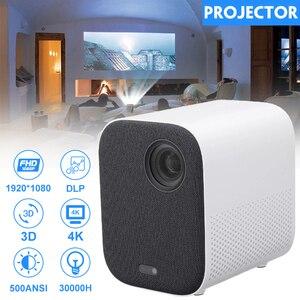 Image 2 - [Глобальная версия] XIAOMI Mijia 4k Проектор проэктор проектор full hd ЕС 3D AI 2 + 8GB HD 1080P 30000 LED Wi Fi Bluetooth SJL4014GL Полный кронштейн для театра проектор новогодний