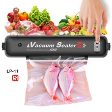 Electric Vacuum Sealer Packaging Machine For Home Kitchen Including 15pcs Food Saver Bags Commercial Vacuum Food Sealing(China)