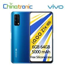 Original VIVO iQOO Z1x 6GB 64GB 5G teléfono móvil Snapdragon 765G Octa Core 6,57