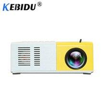 Kebidu J9 YG-300 портативный мини-проектор 1080P поддержка 1080P AV USB SD карта USB мини домашний проектор портативный карманный проектор