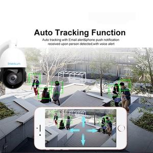 Image 2 - Inesun caméra de surveillance dôme extérieure PTZ IP PoE 2MP, dispositif de sécurité, avec ia, suivi automatique, Zoom optique x30, Audio bidirectionnel et protocole ONVIF