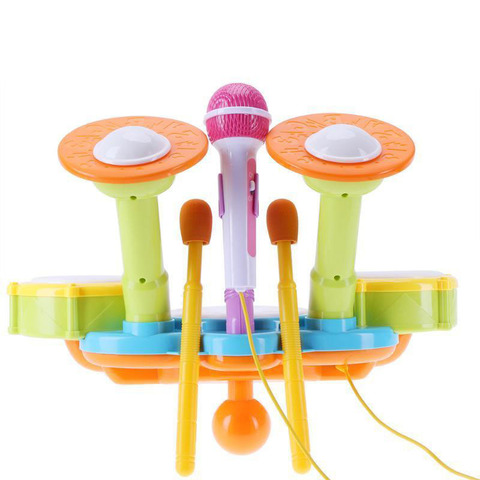 tambor kit eletronico percussao instrumento musical presentes