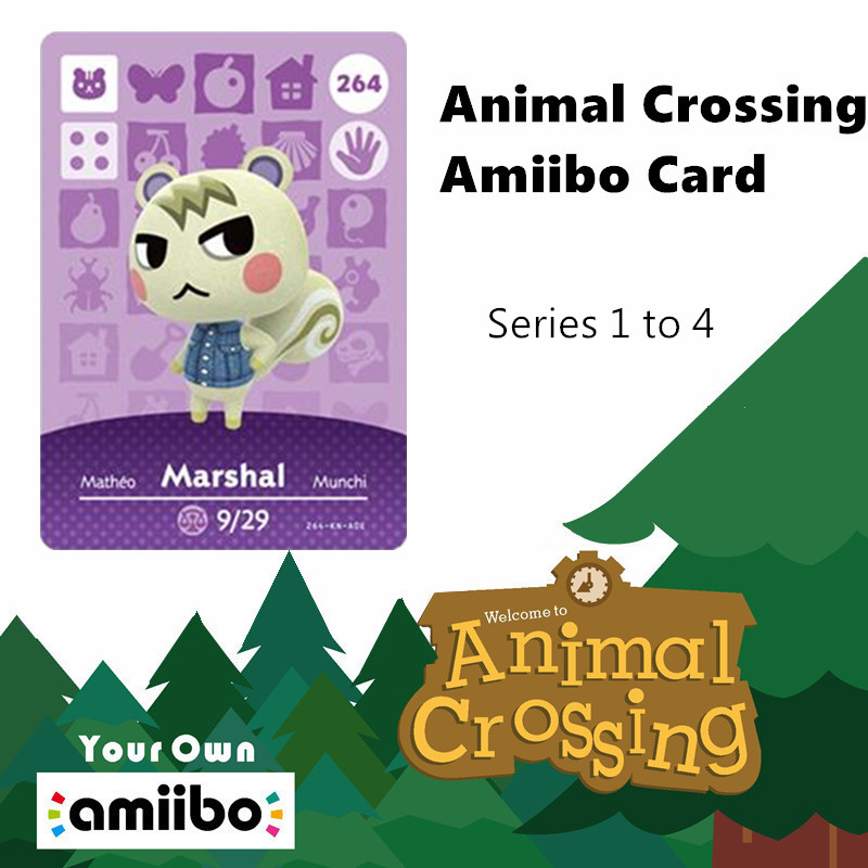 Series 1 To 4 Animal Crossing Amiibo Card 3ds Animal Crossing Card Nuevos Horizontes For Nintendo Switch NS Nfc Games