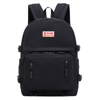 Bolso bandolera con cremallera de Color sólido neutro a la moda, mochila para estudiante, novedad de 2020, mochila para estudiante, mochila para la escuela de
