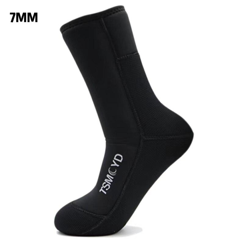 TSMC гидрокостюм дайвинг носки камуфляж 7 мм 9 мм неопреновые носки обувь для серфинга для подводной охоты плавание сохраняет тепло