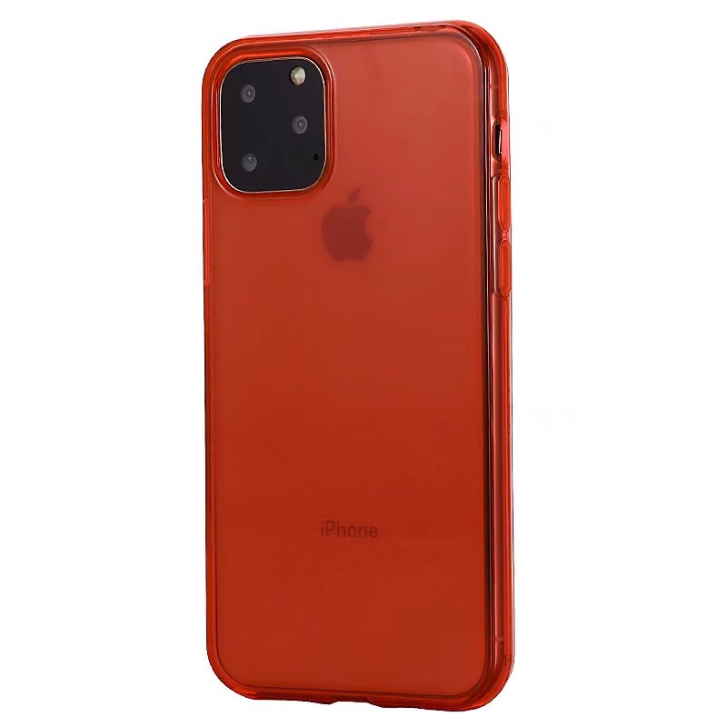 Comanke Transparent Candy Color Silicone Cases for iPhone 11/11 Pro/11 Pro Max 5