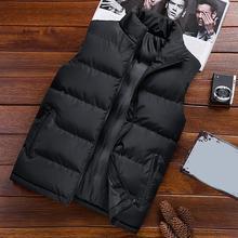 2021 New Mens Vest Jackets Sleeveless Vest Winter Men's Warm Vest Homme Casual Thicken Waistcoat Chalecos Para Hombre M-5XL