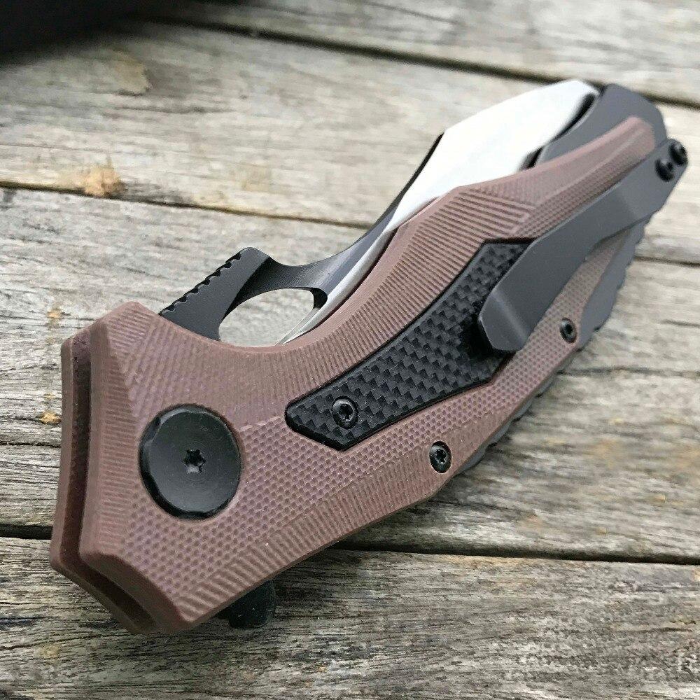 LDT 0427 Összecsukható kés CTS XHP penge G10 Fogantyú katonai - Kézi szerszámok - Fénykép 6
