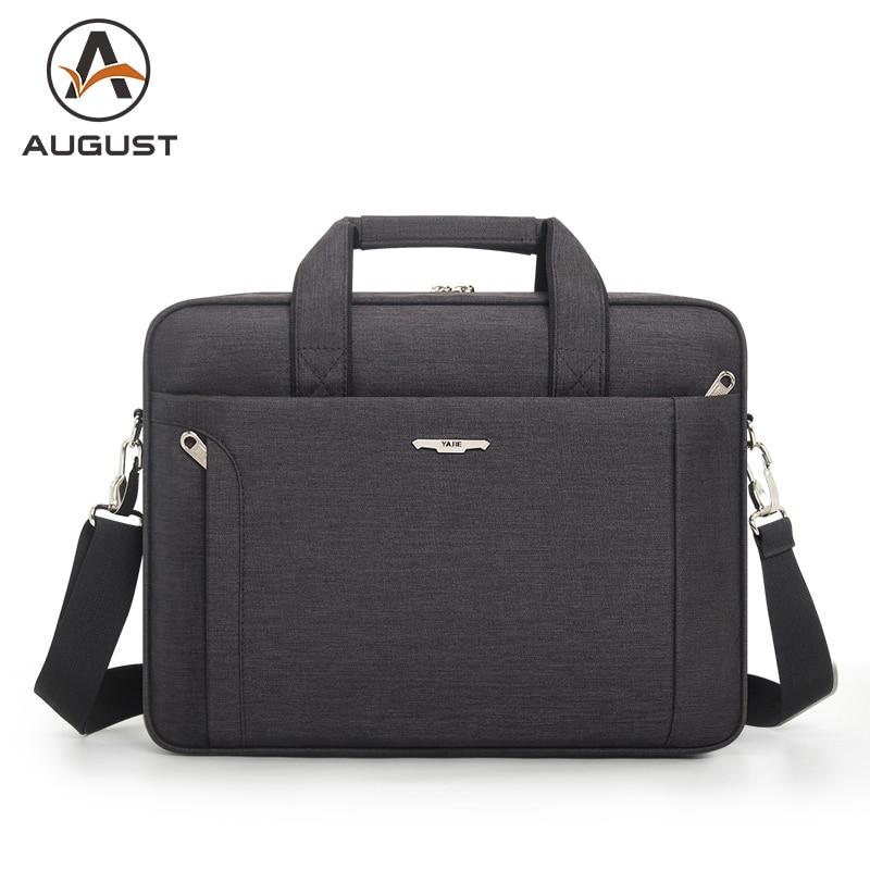Business Men Briefcase Bag 15.6 Inch Laptop Bag Casual Office Handbag High Quality Shoulder Messenger Bags Men's Briefcase