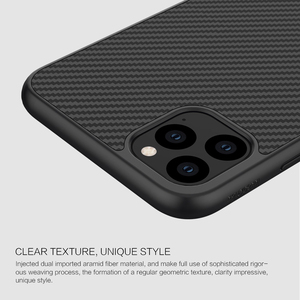 Image 3 - Case for iPhone 11 Pro Nillkin Synthetic Fiber Carbon PC Back Cover Ultrathin Slim Phone Case for iPhone 11 Pro Max 6.1/6.5 inch