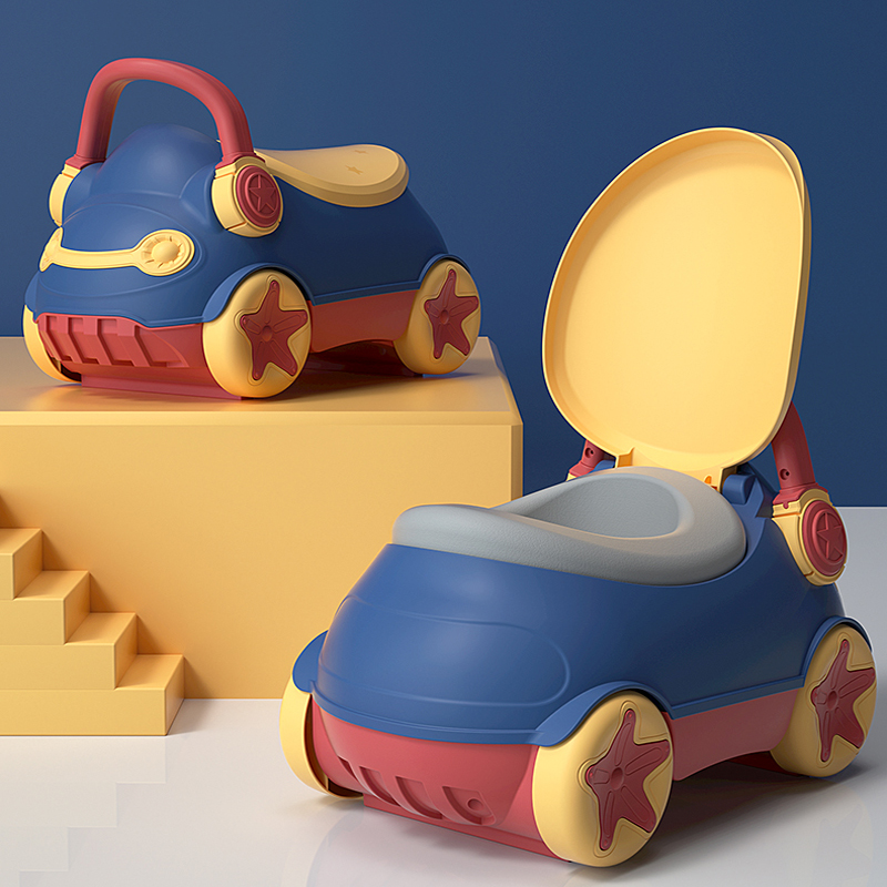 New Style Children's Toilet Extra Large Cartoon Boy And Girl Baby Potty Infant Urine Child Toilet Artifact