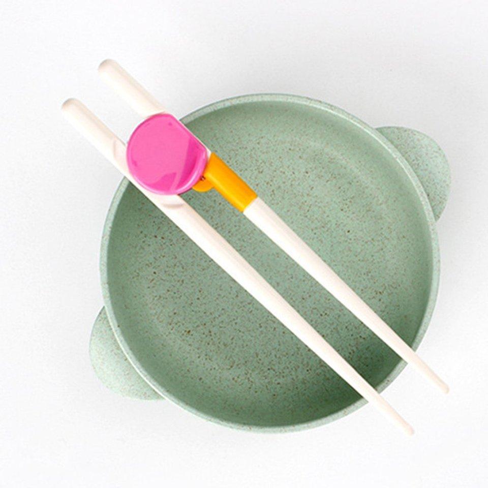 Training Chopsticks Reusable Utensils Corrective Removable Chop Sticks For Kids
