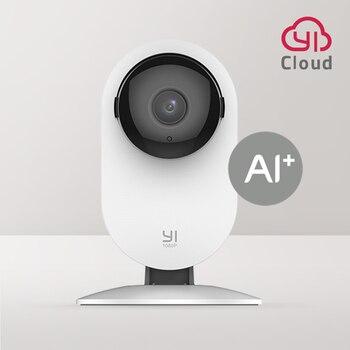 YI Home 1080p Camera AI+ Smart Human detection Night vision Activity alerts for home pets baby nanny monitor Cloud and Micro SD