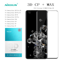 Full Coverage Glass For Galaxy s20 Glass S10 S10E S10 Plus S9 s8 Glass NILLKIN Amazing 3D CP+MAX Tempered Glass Screen Protector