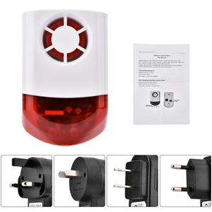 Image 5 - Smart Wireless Siren Weatherproof External Flash LED Strobe Outdoor Siren for Home G2B O2B GSM Alarm System hot