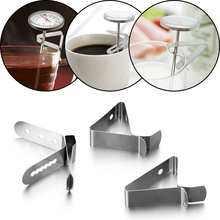 Clip Barbeque-Thermometer Coffee-Cup Probe-Clip-Holder Kitchen-Accessories Stainless-Steel