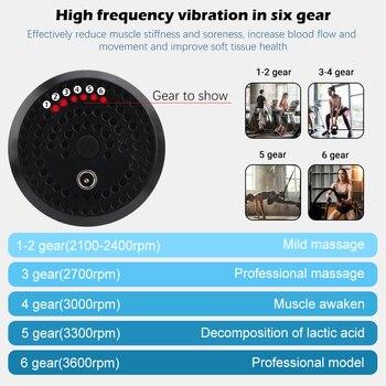 Massage gun for deep muscles 4