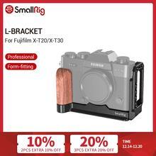SmallRig X T20 L Bracket Plate for Fujifilm X T20 and X T30 Arca Swiss Standard Side Plate+Baseplate L Shape Mounting Plate 2357