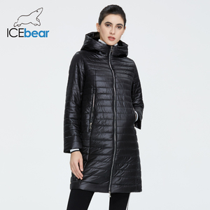 ICEbear 2020 New female coat quality women jacket fashion casual women jacket spring women parkas brand women clothing GWC20687I