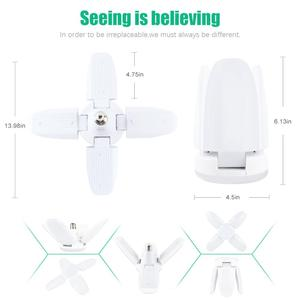 Image 2 - Лампа светодиодсветодиодный в форме вентилятора, 60 Вт, E27