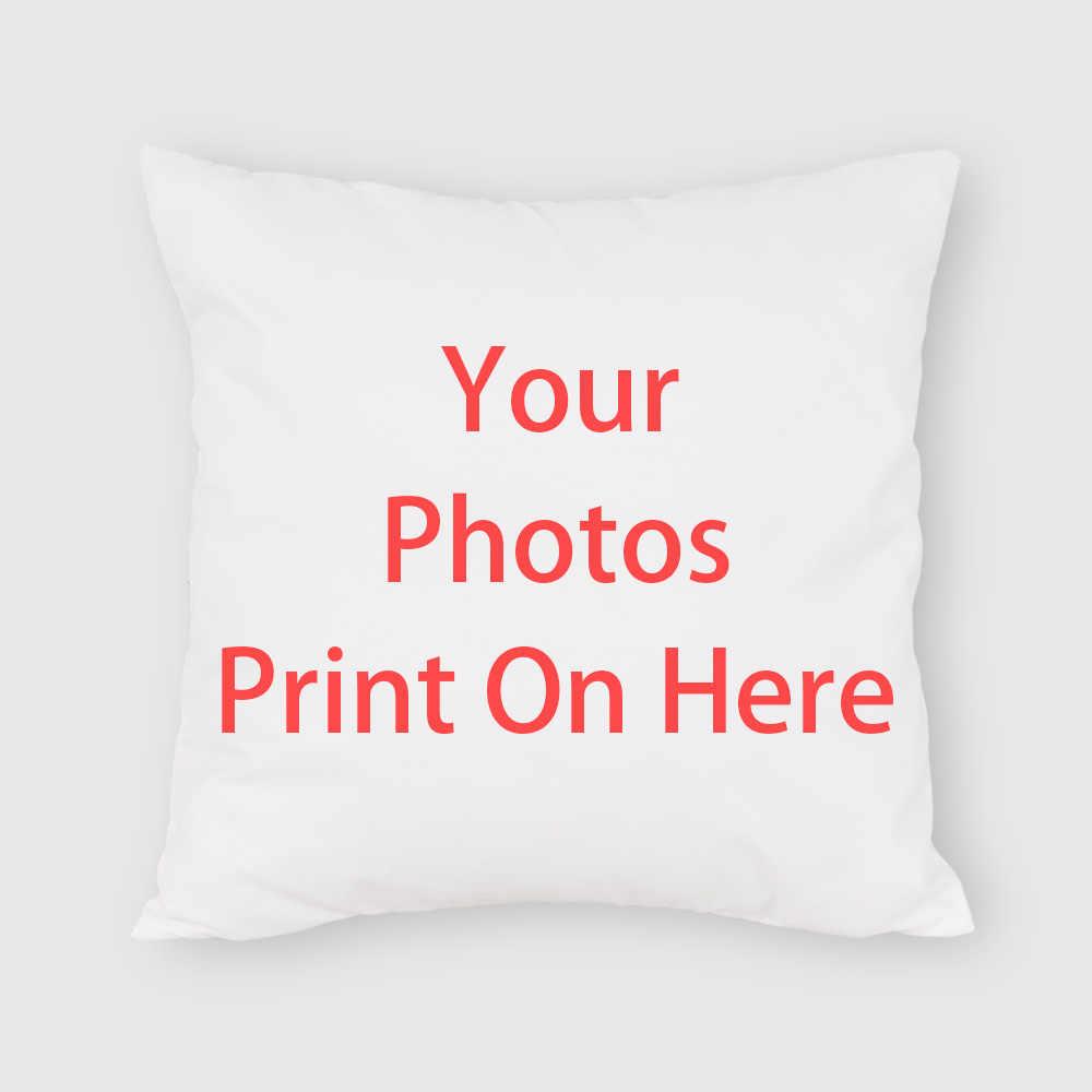 Silstar Tex özelleştirilmiş fotoğraf kare yastık kılıfı şeftali cilt yastık kılıfı dekoratif ev koltuk sandalye araba Drop Shipping