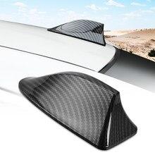 Carro de fibra carbono barbatana tubarão antena para renault duster megane kadjar logan clio latitude captur pulso koleos zoe