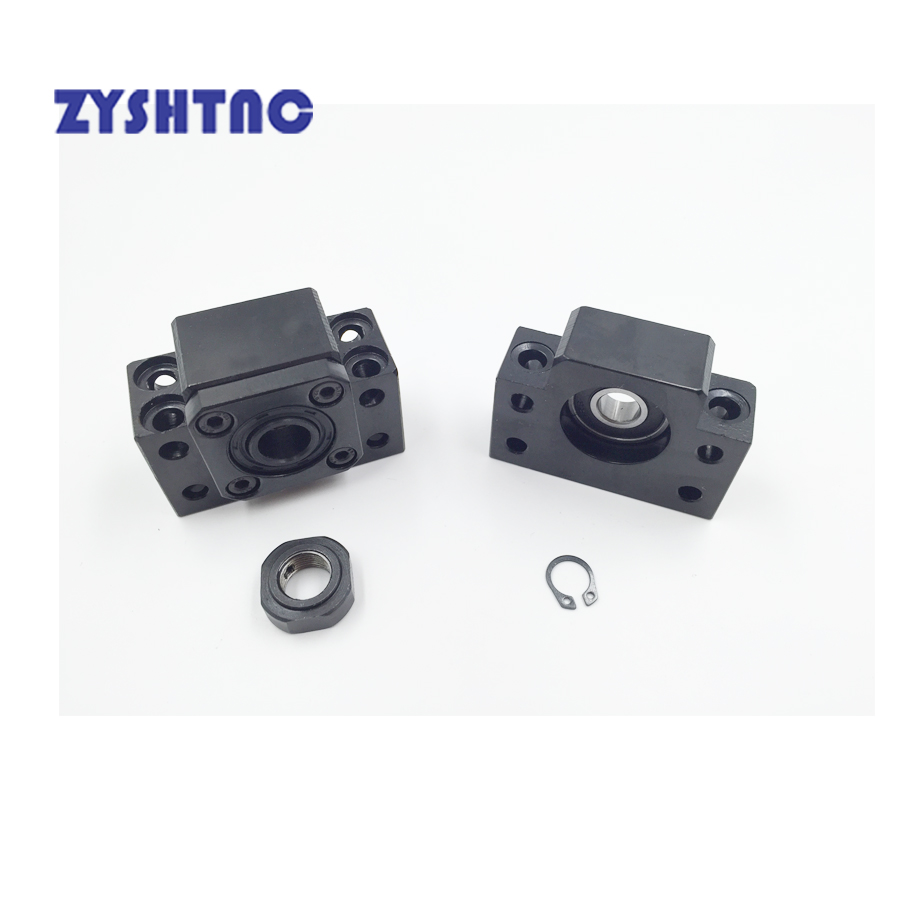 NEW Ball Screw End Support Unit Series BK10 BF10 BK12 BF12 BK15 BF15 BK20 BF20 FK10 FF10 FK12 FF12 FK15 FF15 EK10 EF10 EK12 EF12