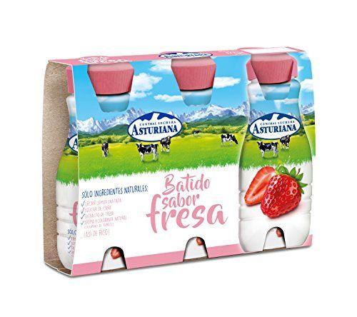 Central Milch Asturiana – Erdbeer-Mixer, 200 Ml, 3 Stück