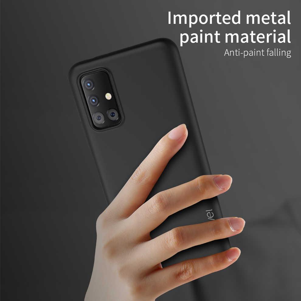 X-seviye silikon Samsung kılıfı Galaxy A51 yumuşak tpu telefon kapağı Samsung A71 kılıfı