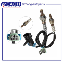 lambda o2 sensor downstream paer for 2000 06 jaguar xk xk8 coupe convertible 4 2l 99 05 jaguar vanden sedan no 234 4735 234 4798 2pcs O2 Oxygen Sensor 4 Wires Upper Upstream Downstream Replacement for 2009-2012 Chevrolet Malibu L4 2.4L 234-4251 234-4673