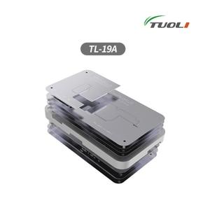 Image 2 - TUOLI TL 19A 10 In1ดีบุกปลูกแพลตฟอร์มสำหรับ iPhone X 12 Pro Max PCB เมนบอร์ดผู้ถือ Logic Board บัดกรีเครื่องมือบำรุงรักษา