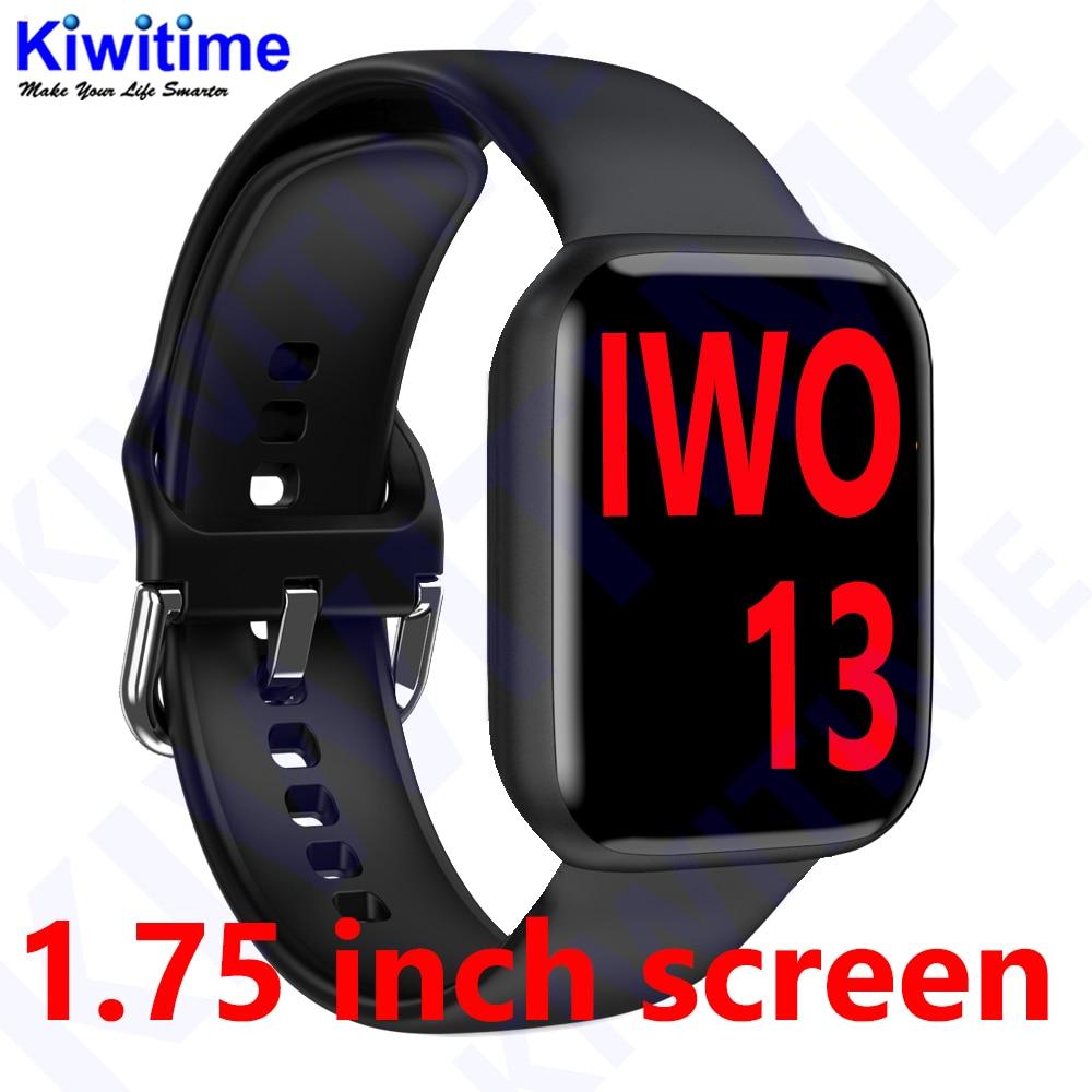 KIWITIME IWO 13 Smart Watch Series 6 for Support Bluetooth Call Heart Rate ECG Pedometer Smartwatch IWO13 Smartwatch