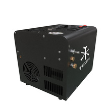 Txet062 4500psi pcp compressor de ar bomba alta pressão 12v bomba portátil bomba elétrica para rifle ar inflator tanque 300bar 30mpa